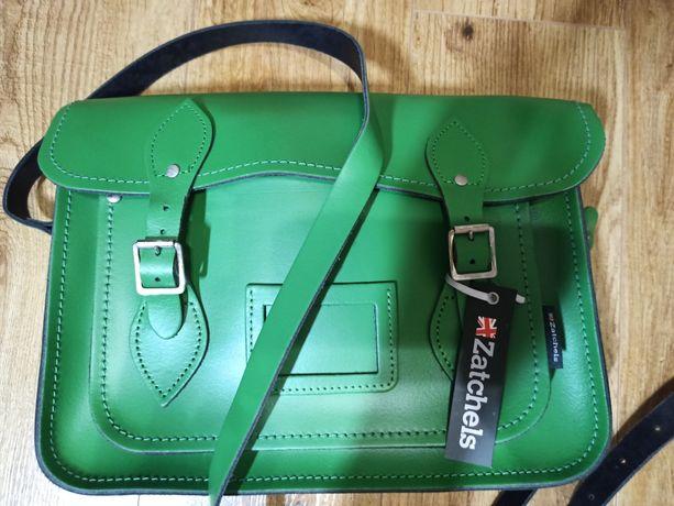 Кожаная сумка Zatchels