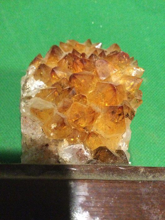Ametista Citrino 10,5 centímetros 400 gramas RARA Vila Nova de Milfontes - imagem 1