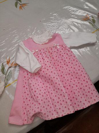 Vestido bebé  meses