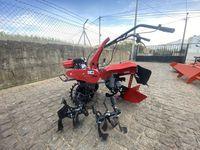 Sachador motocultivador gasolina 7cv fresa 25 a 60 cm com acessorios