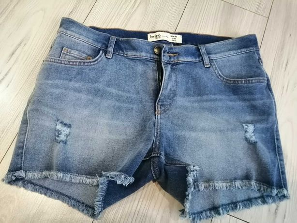 Spodenki jeansowe krótkie 40