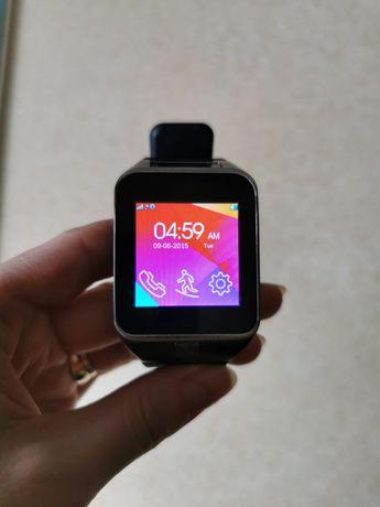 Smartwach męski czarny zegarek