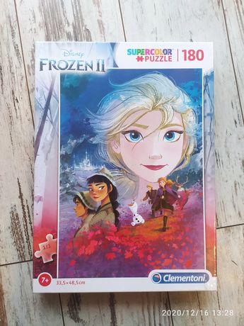 Puzzle Frozen II Disney - Clementoni - 180 elementów