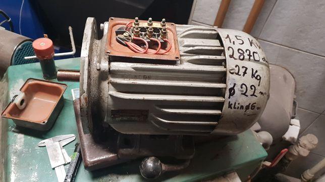 Silnik 1,5 kw 2870 obr