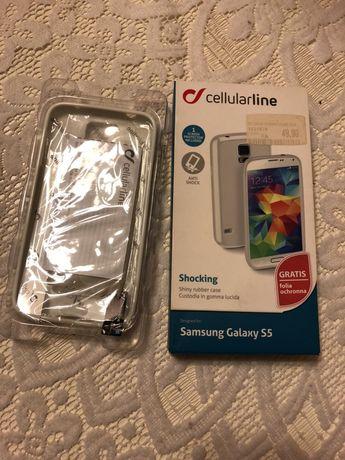 Nowe etui case obudowa białe Samsung Galaxy s5