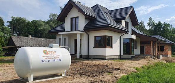 Zbiornik na gaz lpg butla propan butan 2700 / 4850 kotły DE DIETRICH