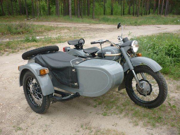 Мотоцикл Днепр-11 с коляской