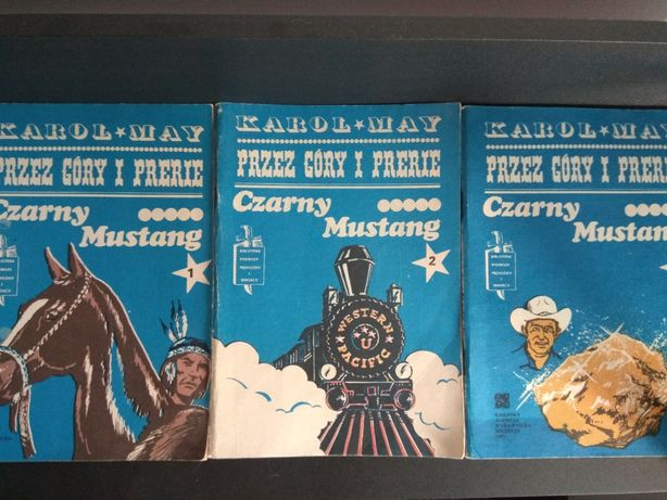 Karol May przez góry i prerie - czarny mustang