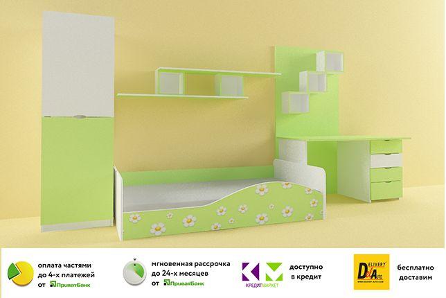 Детская кровать Малютка Нео. Бесплатная доставка по Украине