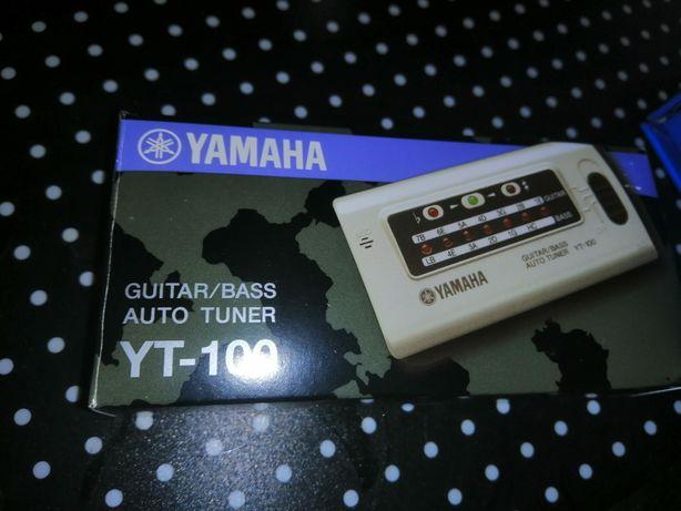 Yamaha yt 100 новый тюнер гитарный