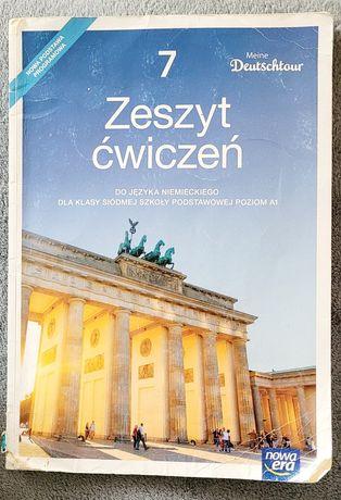Zeszyt ćwiczeń do niemieckiego Meine Deutschtour