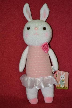 Игрушки MeToo, плюшевый заяц, игрушка мягкая, подарок игрушка, зайчик.