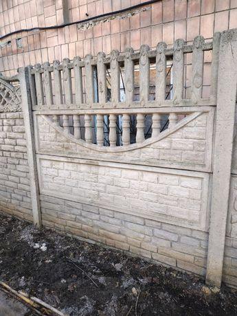 установка бетонного забора винница