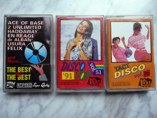 kasety disco takt
