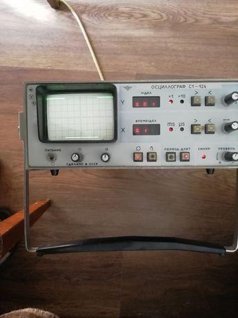 Осциллограф с1-124 сервисный, автоматизированный