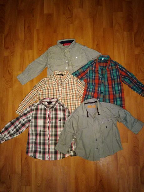 Рубашка на мальчика 2-4 года.