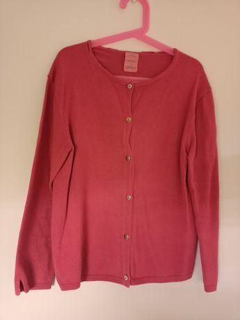 Sweter rozpinany Zara 140