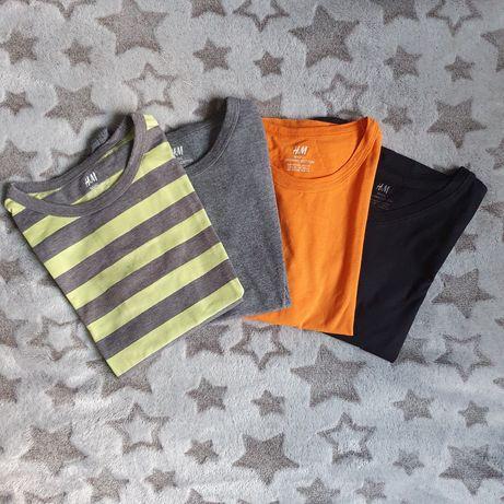 T-shirty H&M 122/128 4 sztuki!