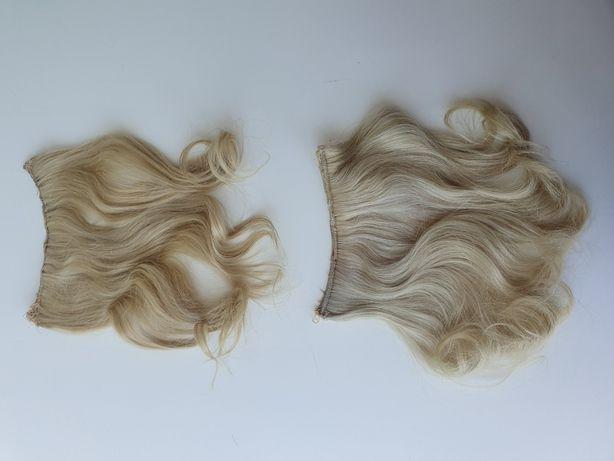 Extensão cabelo humano loiro