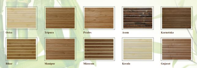 Mata bambusowa, rolka - Płyty i akcesoria meblowe, OSB, HDF,