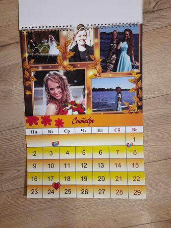 Календарь с вашими фото,подарок