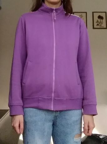 Bluza dresowa damska ze stójką