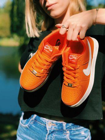 Форси оранжеві Тренд сезону Nike Air Force 1 Orange !!!
