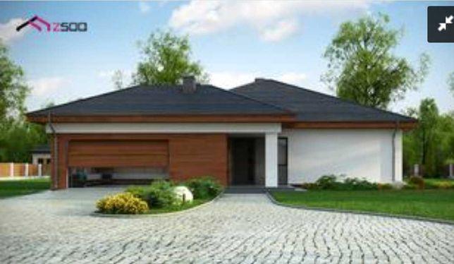Dom parterowy z garażem
