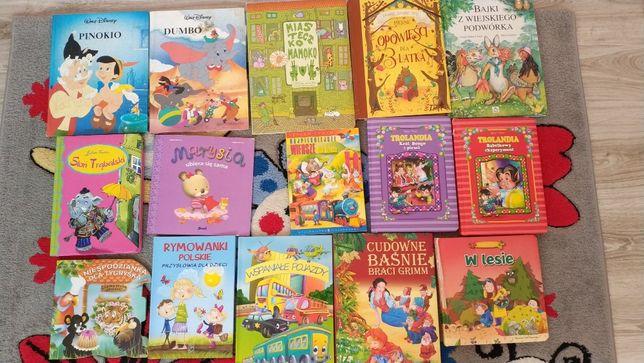 Rozne ksiazki Tuwim, Trolandia, Disney, Basnie ilustrowane bdb