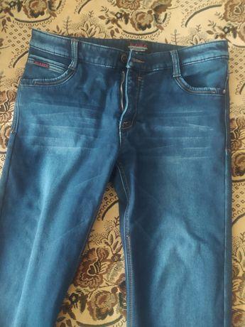 Продам мужские джинсы тёплые новые