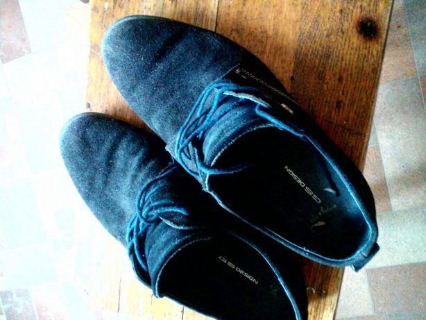 Замшевые туфли...