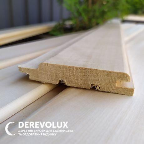 Вагонка, дошка для підлоги, фальш-брус, блок-хаус, рейка дерев'яна