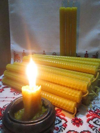 Свечи из пчелиного воска  восковые свечи оптом и в розницу