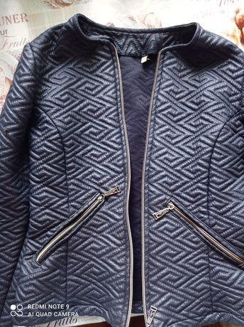 Пиджак кожзам для девочки