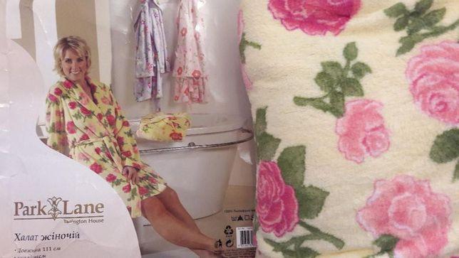 Новый женский махровый халат размер L