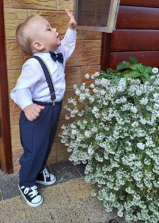 Eleganckie ubranko dla chłopca rozm 86
