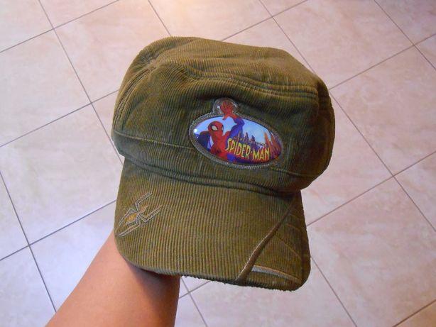 chłopięcy kaszkiet, czapka z daszkiem Spider-Man