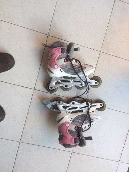 Par de patins em muito bom estado Santa Maria de Lamas - imagem 1
