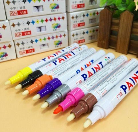 Маркеры для шин колёс резины карандаш по резине Paint хорошее качество