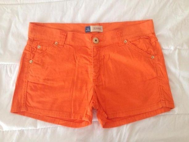 Calções laranja Lanidor - tamanho 40