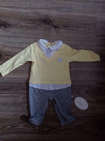 Ubranka dla chłopca nowe 56