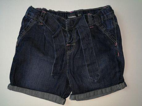 NOWE Krótkie spodenki jeansy rozm 98