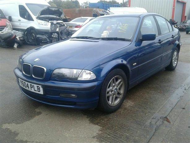BMW e46 TOPAZBLAU Sedan Kombi Maska Zderzak Blotnik Dzrw Klapa OKAZJA