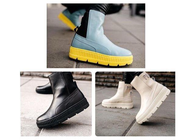 Оригинал, Rihanna x Puma Fenty, ботинки