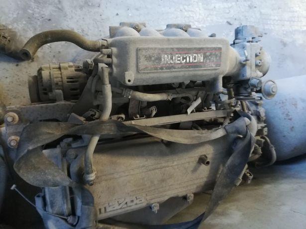 Motor e peças usadas