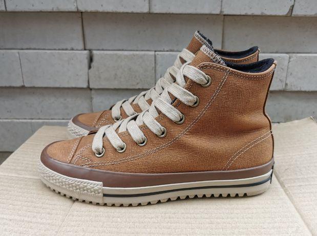 Кожаные кеды ботинки Converse Chuck Taylor All Star 38 р. Оригинал