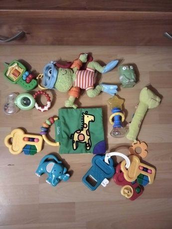 Zabawki, grzechotki, piszczalki