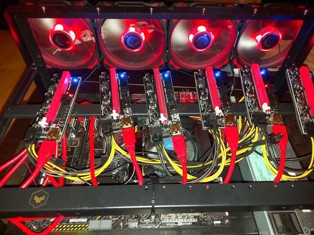 Mining RIG - 6 GPU
