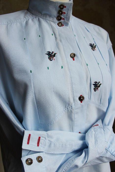 Bawełniana koszula van Laack w haft z kaczkami Legnica - image 1
