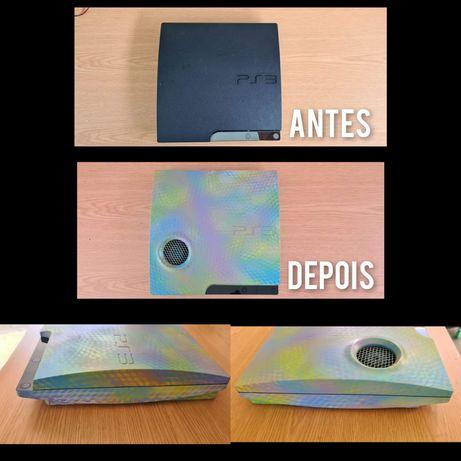 Personalizaçao e limpeza de Consola Sony Playstation 3 / ps3